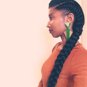 What is your name and where are you from? I: My name is Iris Hopkins of Darby, Pennsylvania. Did you transition or big chop? Share your natural hair journey with us! I:It all started in about 2008…