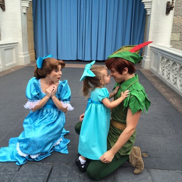 Click on the link for a cuteness overload! A mom makes detailed Disney costumes for her little girl!