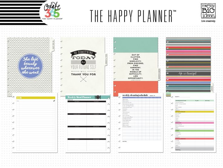 Home planner the home planner pack is a stylish for Home planning binder