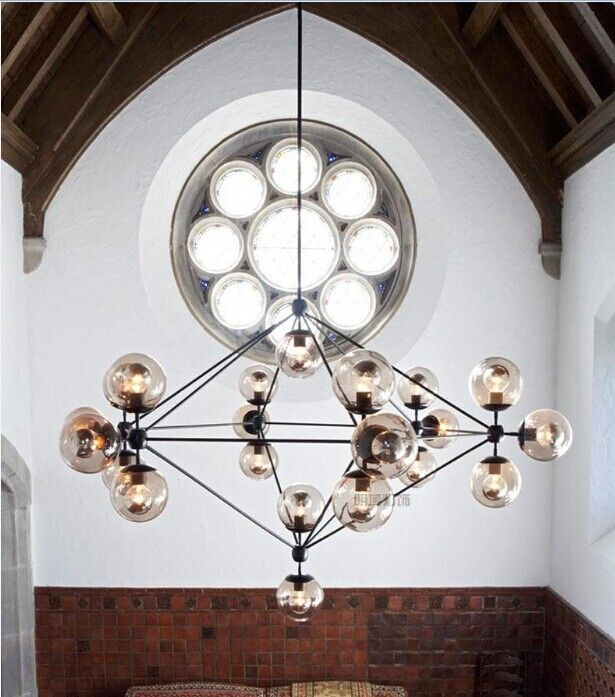 New hot sales 5,10,15,21head bulbs modo magic bean pendant light DNA bubble glass ball pendant light pendant light free shipping