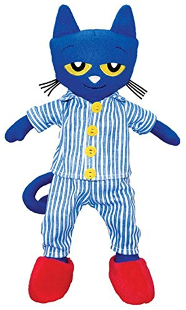 """MerryMakers Pete the Cat Bedtime Blues Plush Doll, 14.5"""" Best Price"""