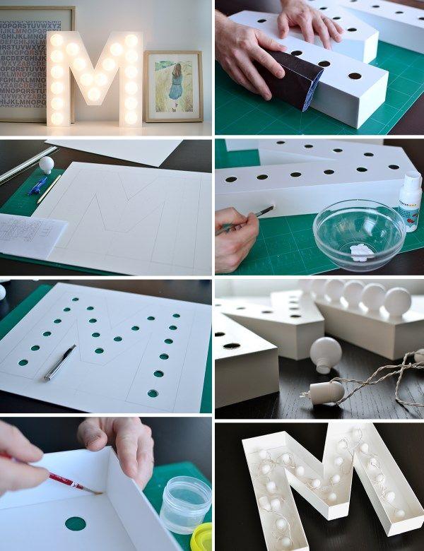 Идеи для светильников своими руками (лучшие фото с Pinterest)