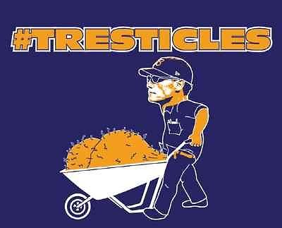 Chicago Bears T Shirt Coach Marc Trestman Tresticles Funny NFL