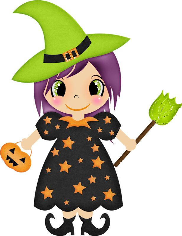 HALLOWEEN WITCH CLIP ART