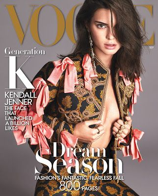 A day in the life of... Me: Kendall Takes Over Vogue With 5 Covers in 2…