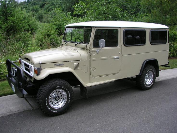 Toyota 'FJ45' LandCruiser, 1983