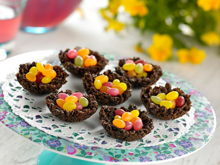 Best 25 chocolate nests ideas on pinterest chocolate easter small nut free chocolate nests filled with sweet treat chocolate beans ideal as bite negle Image collections