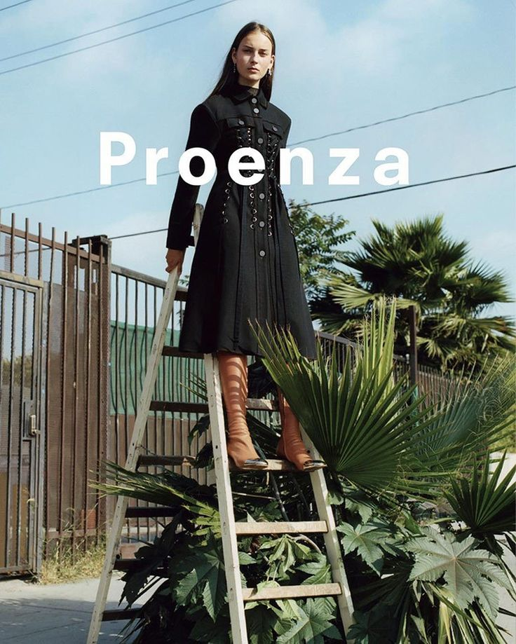 Proenza Schouler FW 16.17 Campaign by Zoe Ghertner /  FASHION EDITORIALS  TITRE…