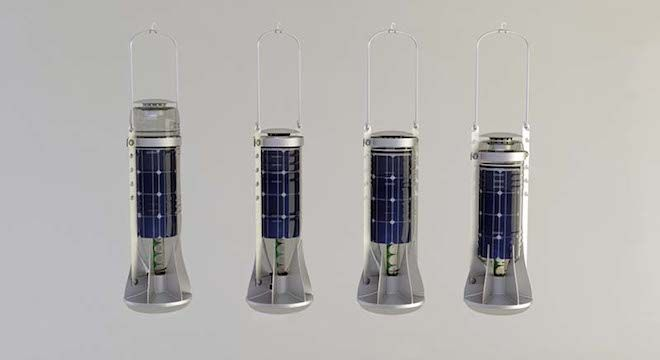 Turkey's Designnobis turns plastic bottles into solar-powered lanterns