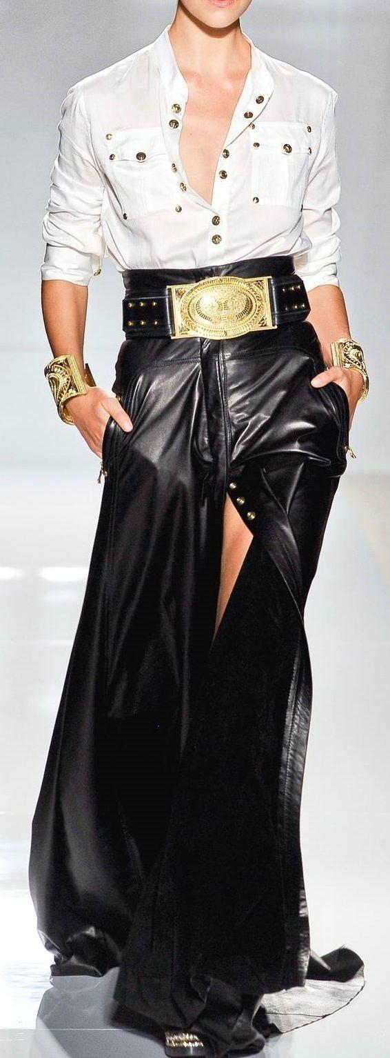 Balmain RTW Spring 2012 #StyleTracee #BGR