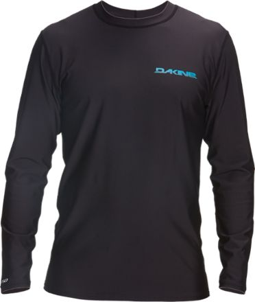DAKINE Men's Heavy Duty Loose Fit Long-Sleeve Surf Shirt Black XL