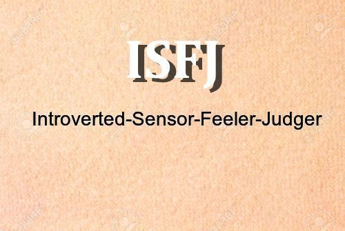 Best ISFJ description there is!