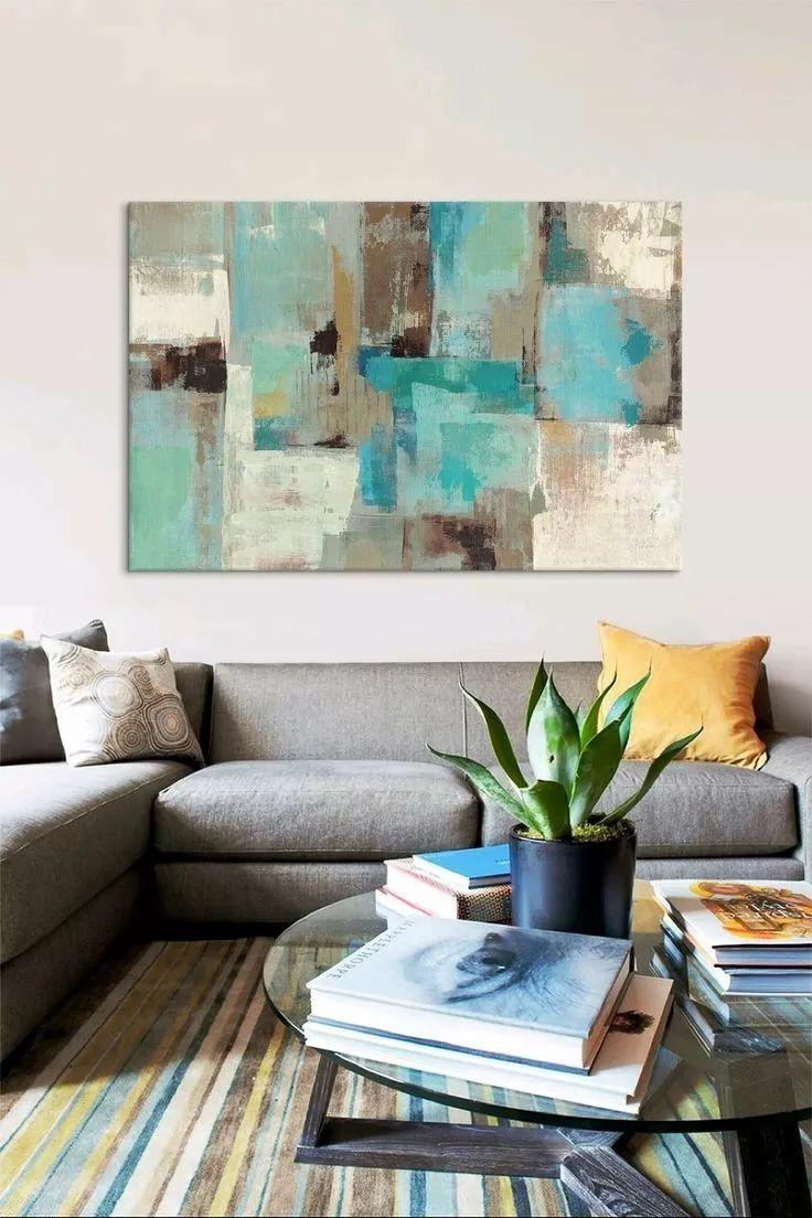 cuadros modernos 80x120 abstractos tripticos texturados
