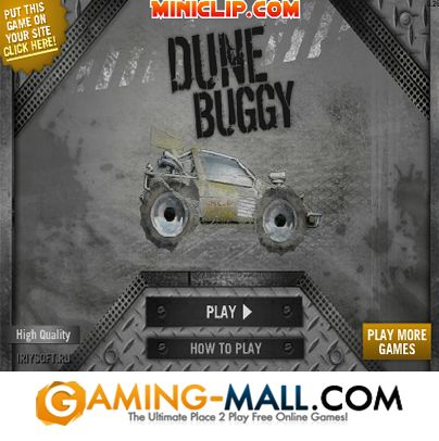 Play #DuneBuggy via #GamingMall http://www.gaming-mall.com/racing/dune-buggy/ Perform stunts to earn points, but beware of the hazard filled levels!