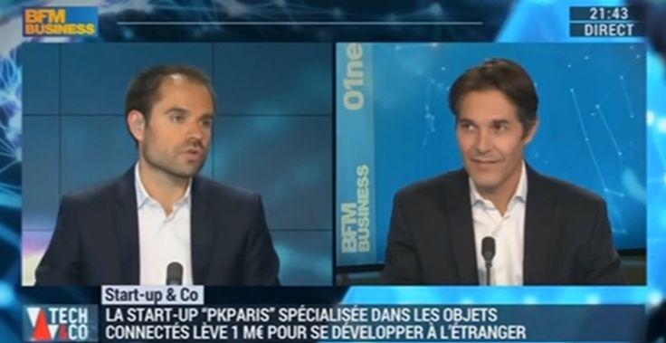 Le 2 mai 2016, Luc Pierart, CEO de PKparis était interviewé par BFM TV. Retrouvez son interview en replay dès maintenant ! http://bfmbusiness.bfmtv.com/mediaplayer/video/start-up-co-pkparis-specialiste-des-objets-connectes-0205-806731.html