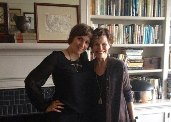 'Coming of age: Lena Dunham interviews Judy Blume.' #WhichWayL.A.?