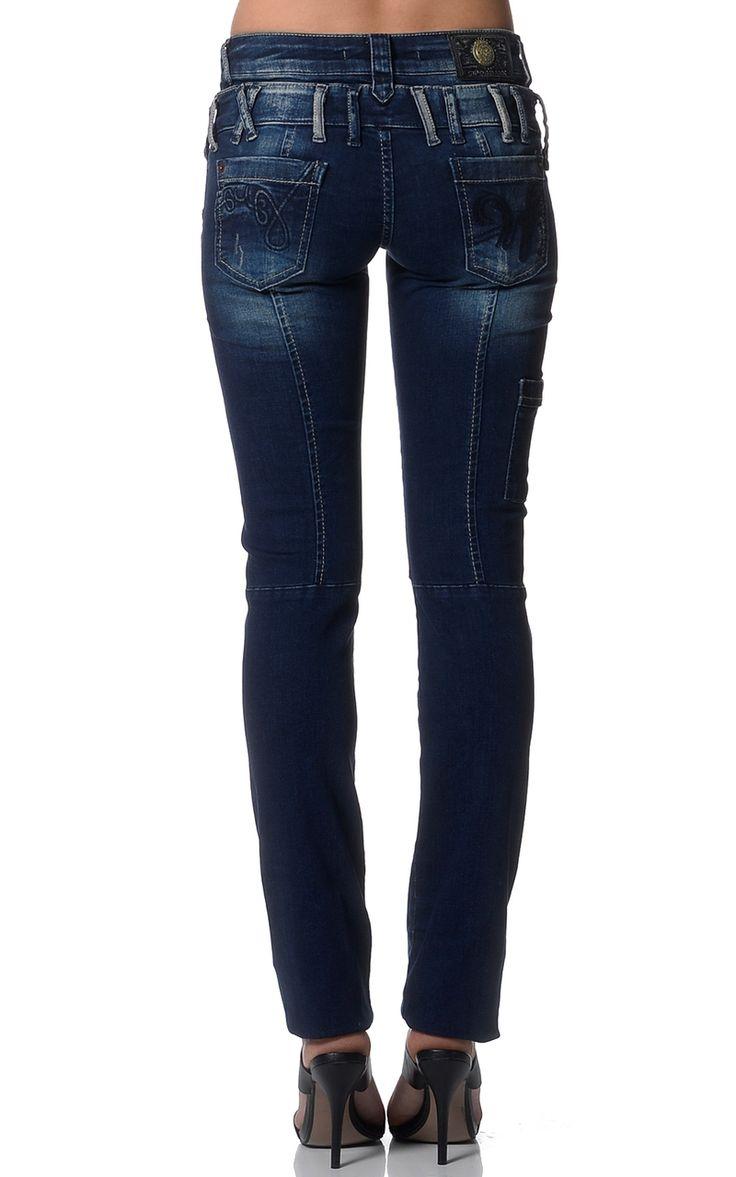 Cipo Baxx Womens Jeans AUW05 - CIPO & BAXX - AUSTRALIA