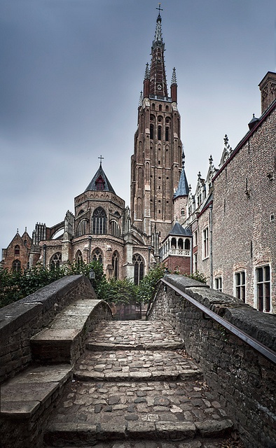 Church of Our Lady (Bruges), Belgium by Sonja Blanco, via Flickr