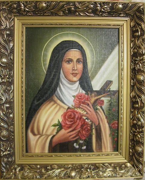 Святая Тереза (холст,масло)