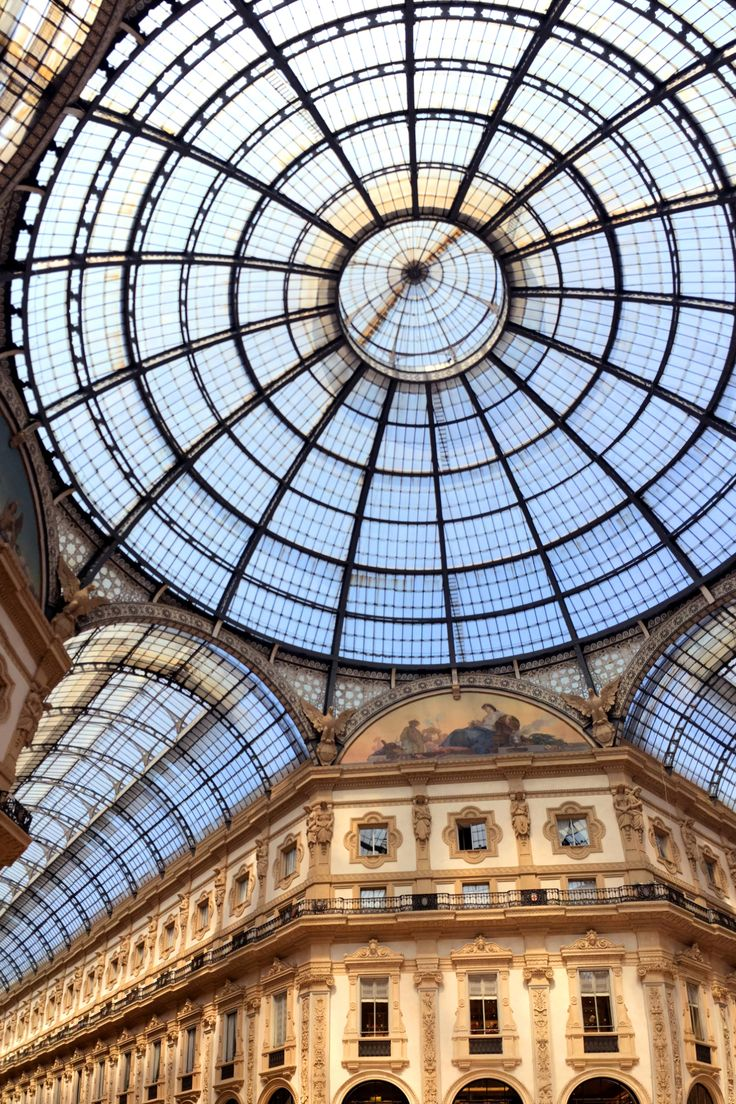 Even if you're not looking to go shopping, a walk through the glass-vaulted arcade of Galleria Vittorio Emanuele II is a must when you're in Milan. But you might as well pop into Prada, Versace, Gucci, and Armani while you're there, too.