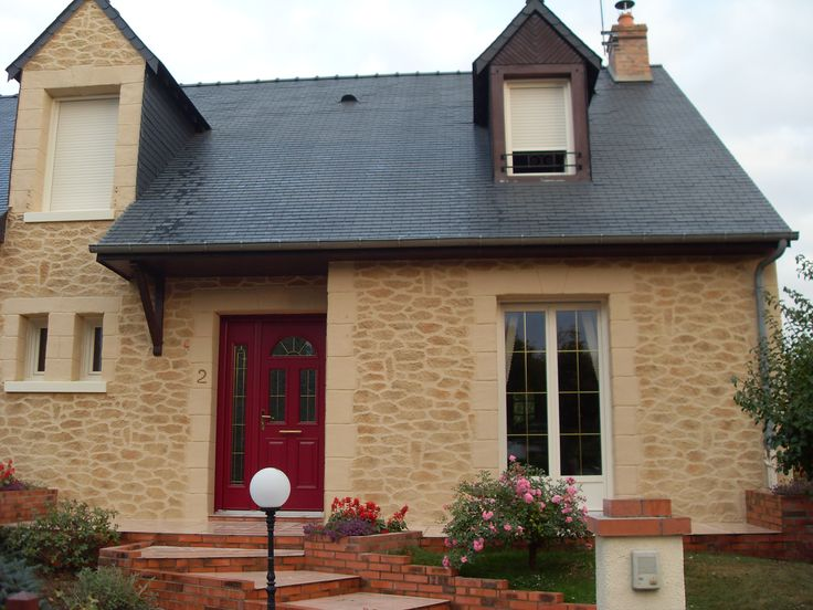 Redonnez vie à votre maison avec une façade aspect pierre lenduit decopierre