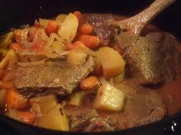 Slow Cooker Steak with Vegetable Gravy