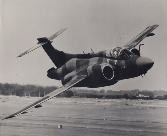 Blackburn Buccaneer on a low pass (1980) These were THE absolute personification of low level attack BEFORE they became necessary with the development of SAM's