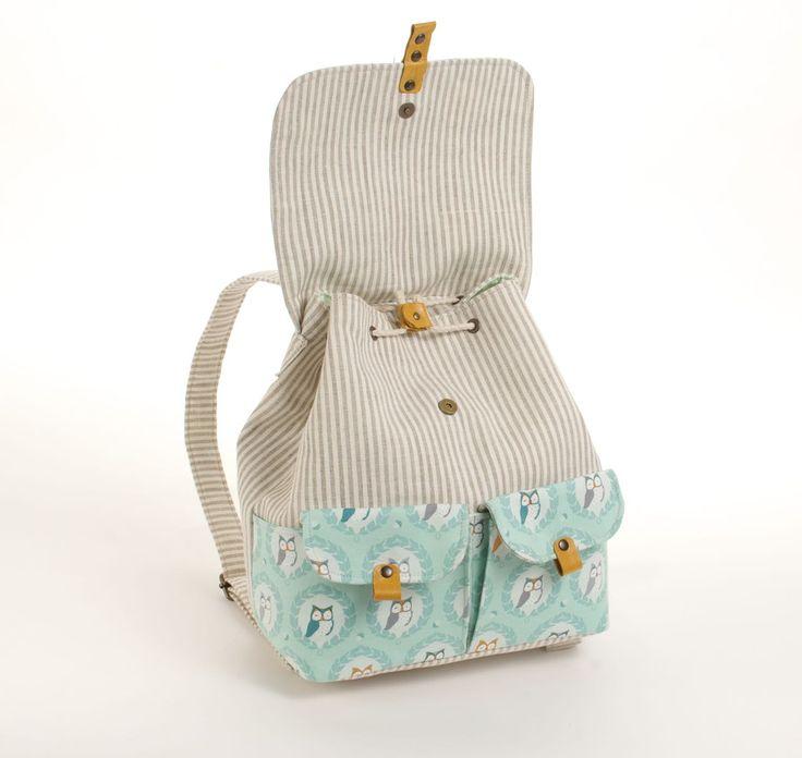 Мастер-класс по текстильному рюкзачку ~ KudryaArt. Авторские сумки и рюкзаки.