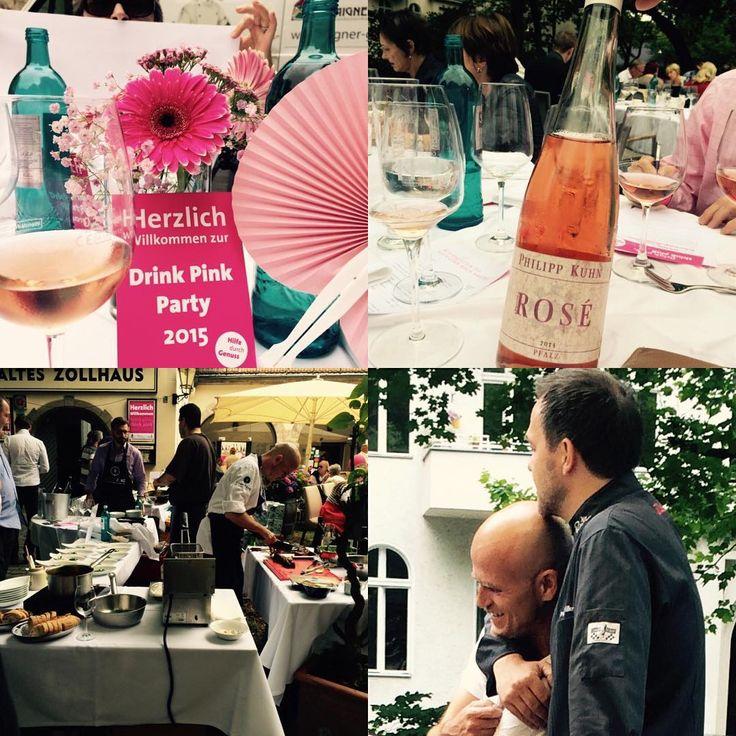 Think Pink-Drink Pink @Berlin #berlin #summer #wine #redwine #rosewine #kreuzberg #friends #zacherl #marcomueller #rutz #sternekueche #follow #likeforlike #cancer #hot #food #tagesforlikes #instadaily #concept #sweet #brillante #style #help