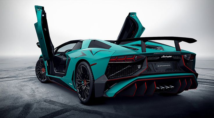 Lamborghini Aventador Lp Superveloce Roadster First
