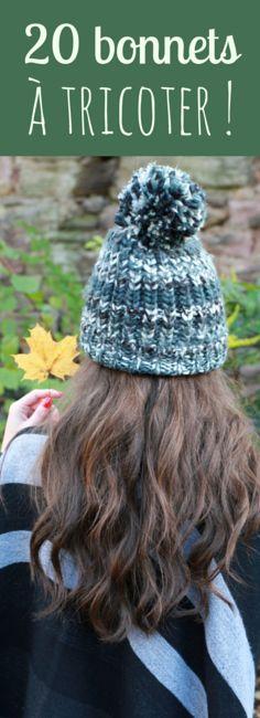 20 bonnets à tricoter !