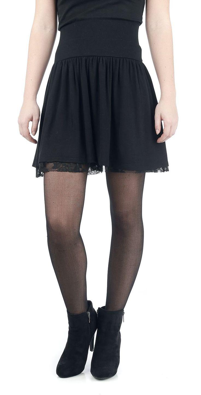 Falda de Encaje Floral Falda hasta la rodilla Compra ahora online