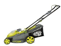 Buy this Sun Joe iON16LM 40 V 16-Inch Cordless Lawn Mower with Brushless Motor with deep discounted price online today.