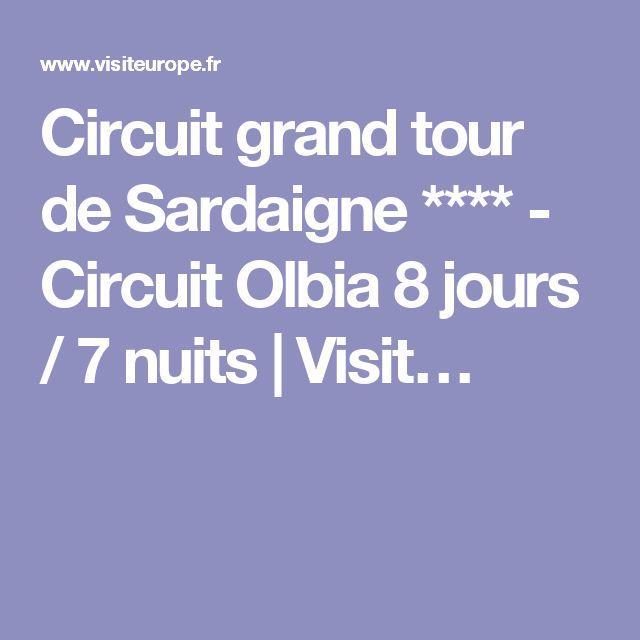 Circuit grand tour de Sardaigne **** - Circuit Olbia 8 jours / 7 nuits   Visit…