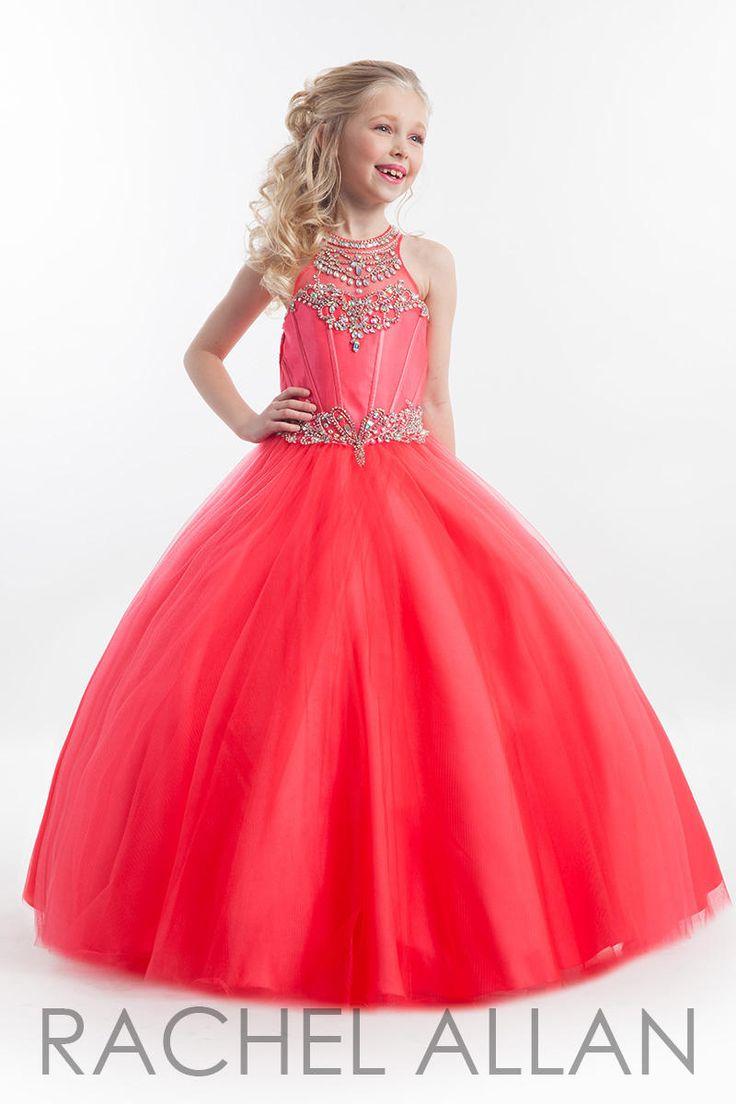 218 best girls pageant dresses images on pinterest pageant gowns rachel allan little girls pageant dress style 1614 ombrellifo Gallery