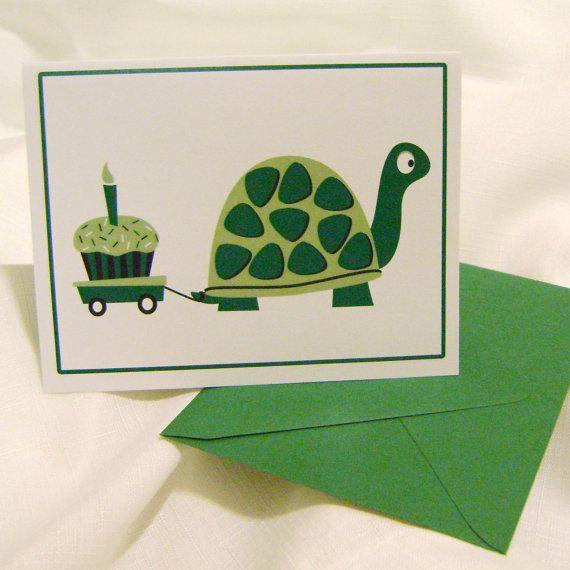 Belated birthday card.