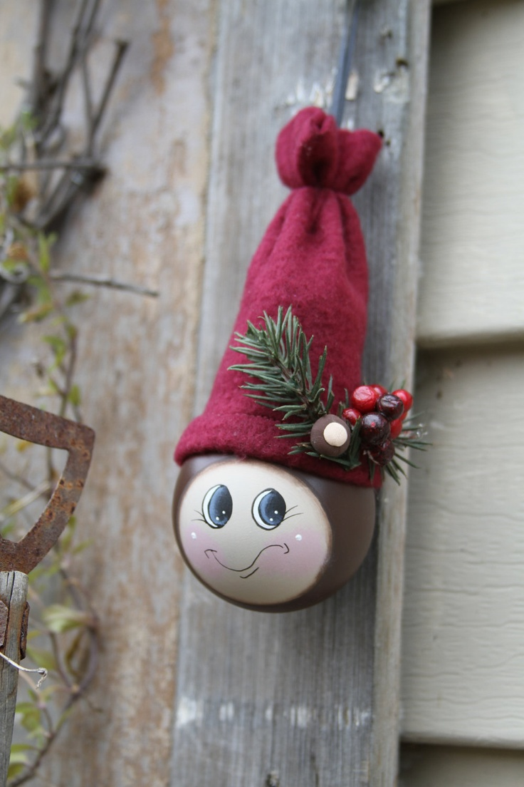 Light bulb ornaments - Brutus The Buckeye Light Bulb Ornament