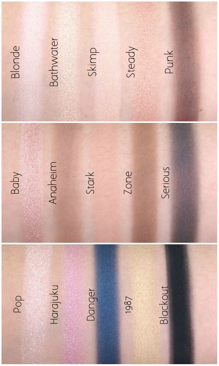 Urban Decay Gwen Stefani Eyeshadow Palette: Review and Swatches