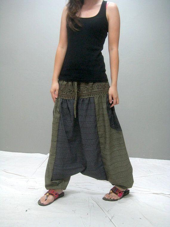 KUMO harem pant  238.1 by thaitee on Etsy, $41.00