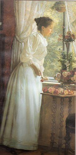 """""""Summer roses"""" by G. Yemehren."""