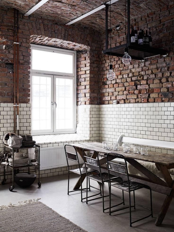 Brick u0026 Subway Tile This is the