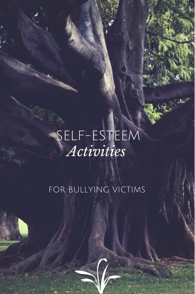 Bullying takes a major toll on children's self-worth. These self-esteem activities not only help bullying victims, but also children who may become bullies!