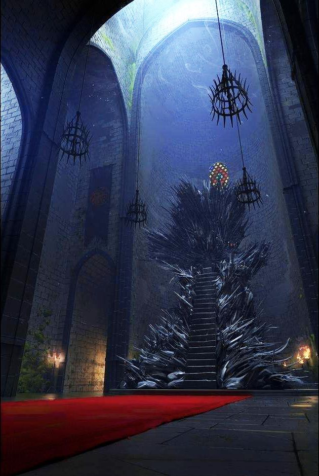 "masha-russia: "" Iron Throne by Nikita Veprikov. """