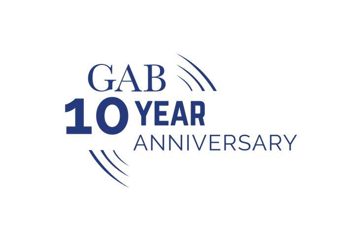 Gulf african bank 10 year anniversary logo limited