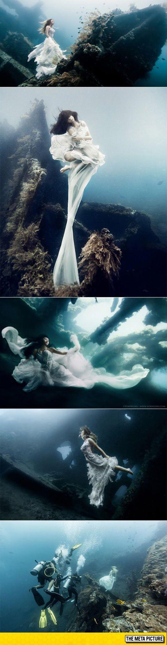 Underwater Photoshoot, Bali                                                                                                                                                     More