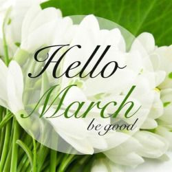 Image result for good month march images