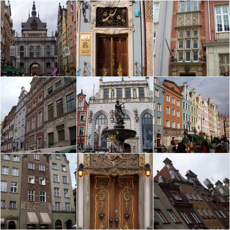 Gdansk facades