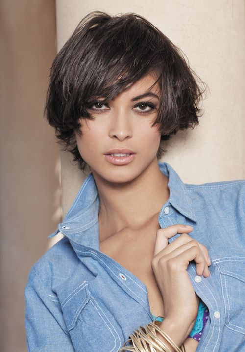 Short Hairstyles For Thick Hair | Pictures of Short Straight Haircuts 2012 – 2013 | 2013 Short Haircut ...