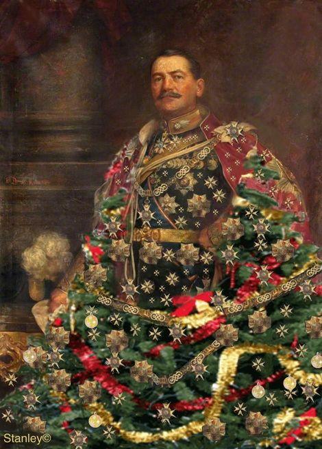 Stanley Gonczanski, Christmas General on ArtStack #stanley-gonczanski #art