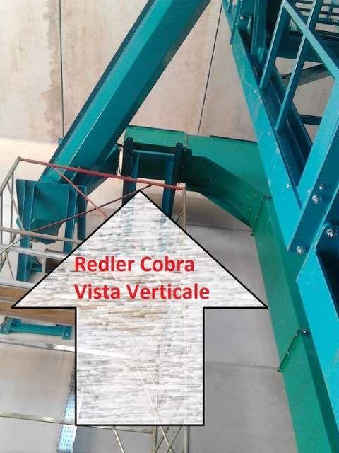 Redler cobra, trasportatore a catena